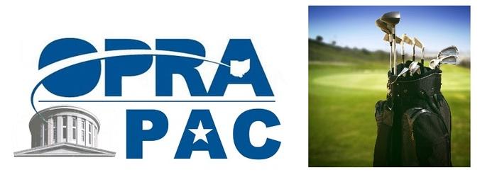 OPRA PAC Golf Outing Logo